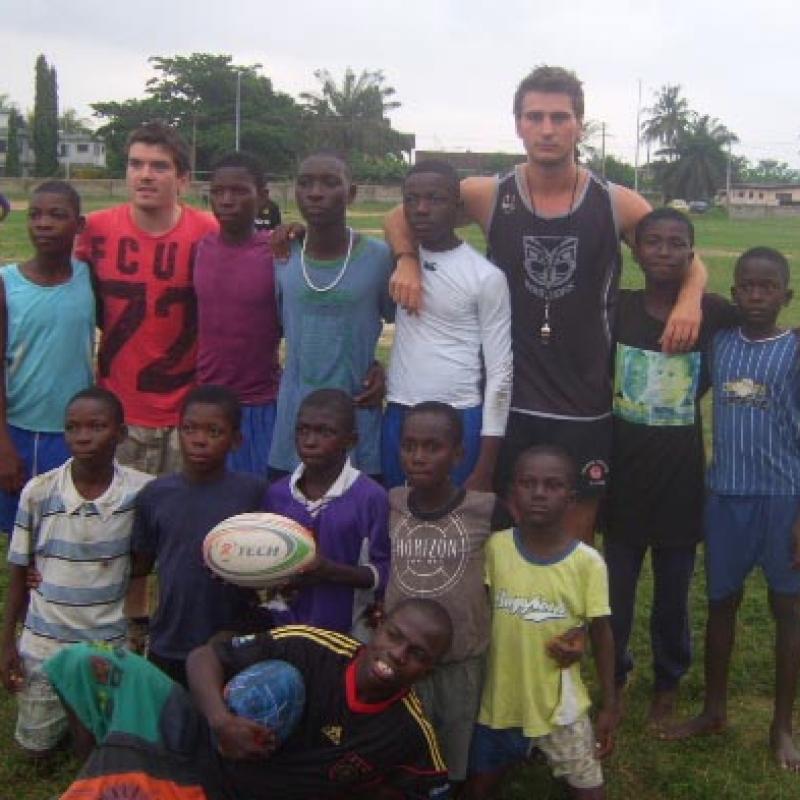 Liam S in Ghana